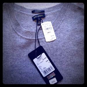 NWT Escada cashmere sleeveless top